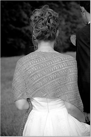 Sarcelle shawl